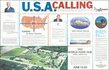 Kansas Map By Lane Advertising