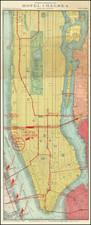New York City Map By Rand McNally & Company