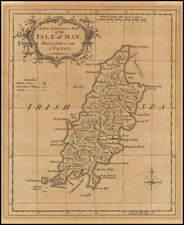 British Counties Map By Richard William Seale