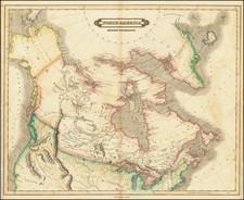 Polar Maps, Canada and Western Canada Map By Daniel Lizars