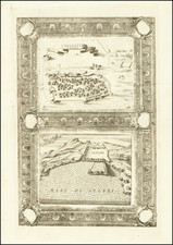 North Africa Map By Vincenzo Maria Coronelli