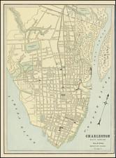 South Carolina Map By George F. Cram