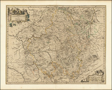Nord et Nord-Est Map By Nicolas Sanson / Nicolaes Visscher II