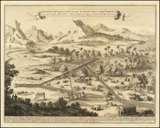 Sri Lanka and Curiosities Map By Francois Valentijn