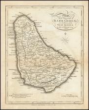 Caribbean Map By Bryan Edwards  &  John Stockdale