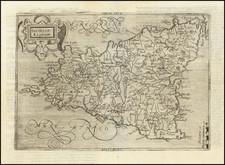 Sicily Map By Johannes Matalius Metellus