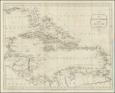An Accurate Map of the West Indies with the Adjacent Coast of America.  1796 By John Reid