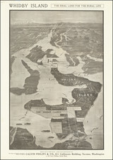 Washington Map By Calvin Philips & Co.