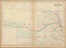 Nebraska Map By Asher  &  Adams