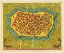 Other Italian Cities Map By Pierre Mortier