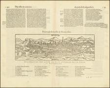 Sud et Alpes Française Map By Francois De Belleforest