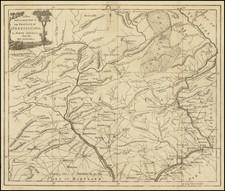 Mid-Atlantic and Pennsylvania Map By Universal Magazine