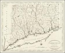 Connecticut Map By John Reid