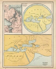 World and World Map By George F. Cram