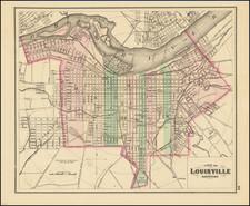Kentucky Map By O.W. Gray