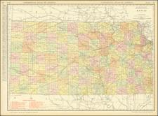 Kansas Map By Rand McNally & Company
