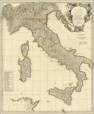 Italy Map By Thomas Kitchin