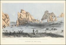 Colorado and Colorado Map By Alfred Edward Mathews
