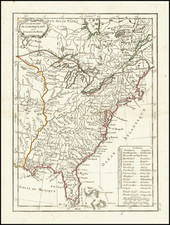 United States Map By Jean Lattré