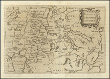 Poland and Baltic Countries Map By Johannes Matalius Metellus