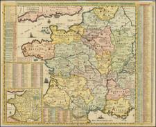 France Map By Henri Chatelain