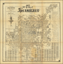 Los Angeles Map By Felix Viole
