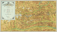 Pictorial Maps and British Columbia Map By Canadian Pacific Railway