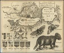 Eastern Canada Map By Gentleman's Magazine / Thomas Jefferys