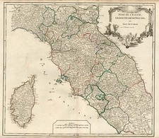 Europe, France, Italy and Balearic Islands Map By Gilles Robert de Vaugondy / Delamarche