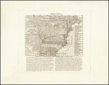 United States Map By Francois Godefroy