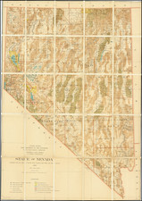 Nevada Map By U.S. General Land Office