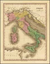 Italy Map By Anthony Finley