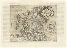 Scotland Map By Johannes Matalius Metellus