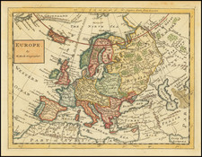 Europe Map By Herman Moll