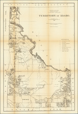 Idaho Map By General Land Office