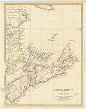 Eastern Canada Map By SDUK