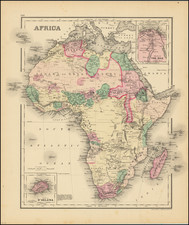 Africa Map By O.W. Gray