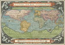 World Map By Francois De Belleforest