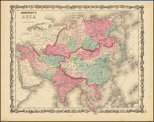 Johnson's Asia By Alvin Jewett Johnson  &  Benjamin P Ward
