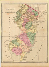 New Jersey Map By Charles Morse