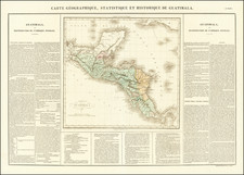 Central America Map By Jean Alexandre Buchon