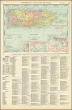 Puerto Rico Map By Rand McNally & Company