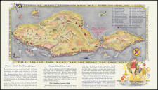 Los Angeles Map By Los Angeles Lithographic Co.