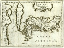 Asia, Japan and Korea Map By Johannes Cloppenburg  &  Pieter van den Keere