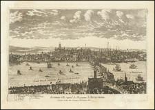 London Map By Pierre Alexander Aveline