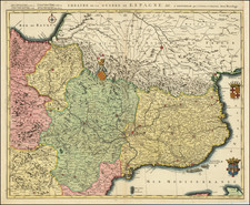 Spain Map By Covens & Mortier