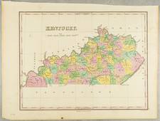 Kentucky Map By Anthony Finley