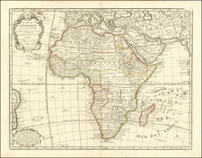Africa Map By Philippe Buache