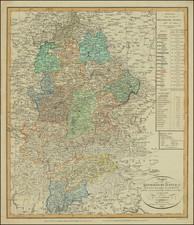 Austria, Northern Italy and Süddeutschland Map By Weimar Geographische Institut