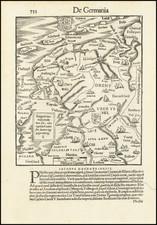 Netherlands Map By Sebastian Munster